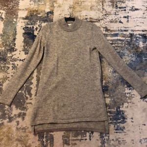H&M Fuzzy Mock Turtleneck Tunic